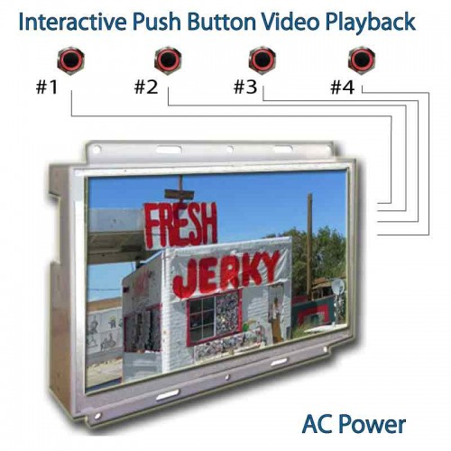 Open Frame LCD AD Player - Visual Marketing Display