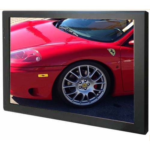 """High Quality 21.5"""" LCD AD Player - Metal Industrial Housing. Protective Glass"""