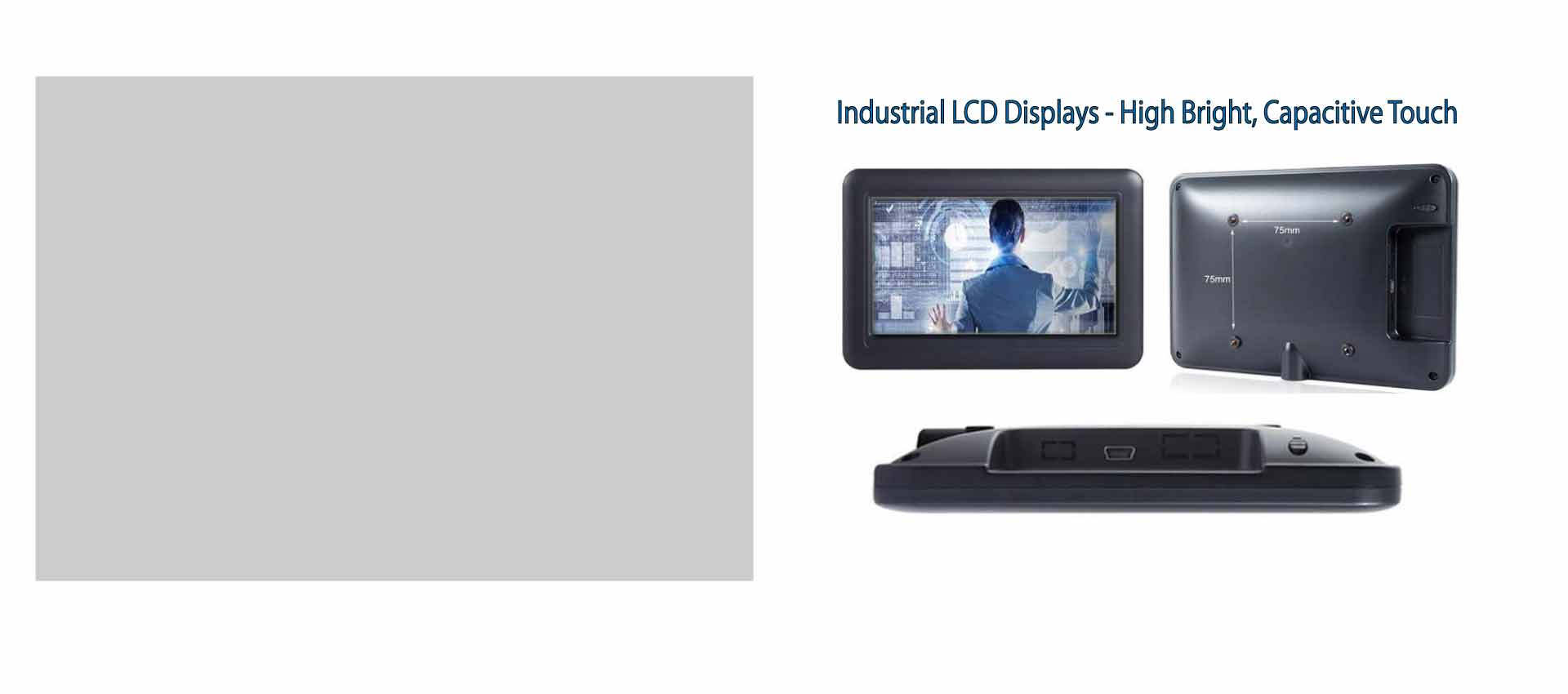 Industrial LCD Monitors and Displays
